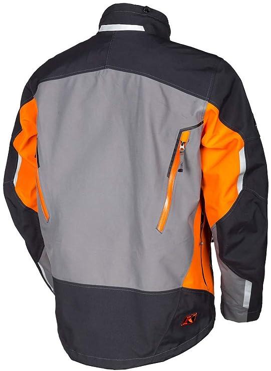 Klim 2017 Valdez Parka Mens Ski Snowmobile Jacket - Orange/X-Large