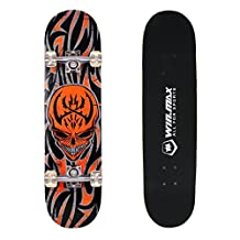 WIN.MAX 7 Plies Maple 3D Double Kick Concave Deck Cool High Doodle Quality Skating Skateboard