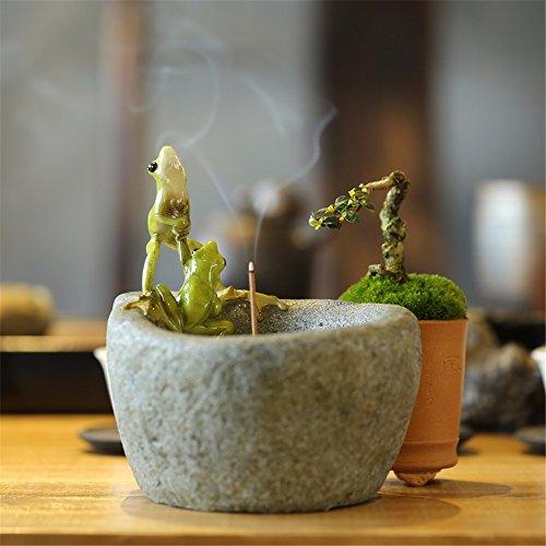 LOSTRYY Animal creative hand incense incense incense incense sandalwood floor room Decoration, 10 16 8CM by LOSTRYY