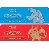 Pokemon TCG XY-Evolutions Elite Trainer Box -  Featuring Mega Charizard Y or Mega Blastoise