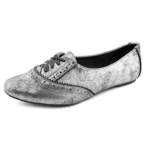 No Calificado Punto De Inflexión Para Mujer Tallas 6 Zapatos De Cuero De Imitación De Cuero Plateado Uk 4