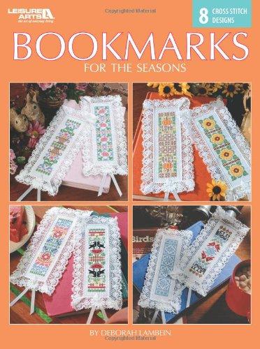 Bookmarks for the Seasons  (Leisure Arts #4844) (Art Cross Stitch Kit)