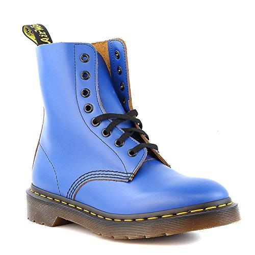 adulte Pascal Blue Bottes Dr mixte Smooth Vintage Martens q74fpwR