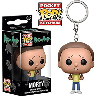 Funko Pop Keychain Rick and Morty Action Figure: Funko Pop! Keychain:: Toys & Games