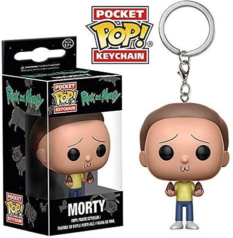 Funko-12919 Pocket Keychain: Rick & Morty: Morty (12919)