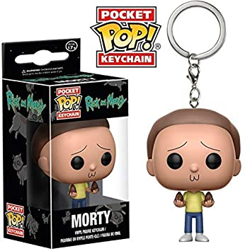 Amazon.com: Funko Pop - Llavero con figura de Rick and Morty ...