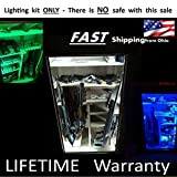 - Gun Safe / Locker / Cabinet LED Lighting KIT - LED Color Select Set - with Remote - #1 BEST Christmas Gift for HUNTERS - Multi Color w/ WHITE also