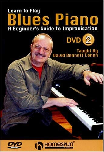 Dvd Two Homespun - DVD-Learn To Play Blues Piano #2
