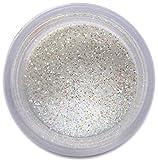 Super White Glitter Dust, 5 gram container