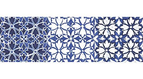 Wall Pops WPSS1983 Sintra Stair Stripe Decal, Blue