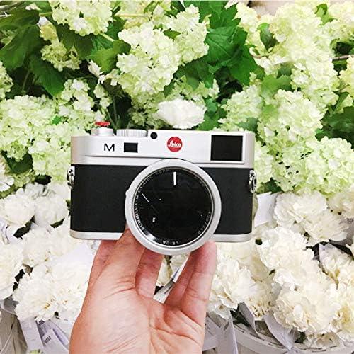 Premium Material XIAOMIN 40.5mm Metal Vented Lens Hood for Leica Black