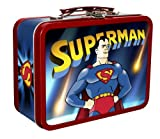 Superman Cartoons Collectible Tin with Handle