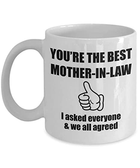 Amazon Mother In Law Mug Gift For