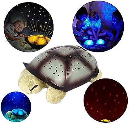 Proyector de luz de Noche de Felpa, luz de proyección de Tortuga ...