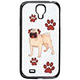 Graphics and More Pug of Distinction Snap-On Hard Protective Case for Samsung Galaxy S4 - Non-Retail Packaging - Black