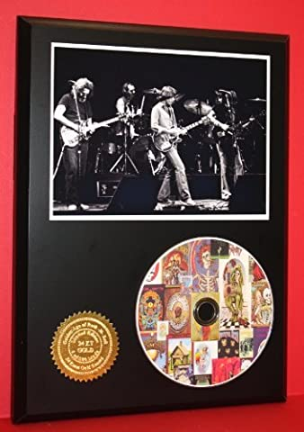 Grateful Dead Album Art Collage Limited Edition Picture Disc CD Rare Collectible Music Display (Ltd Albums)