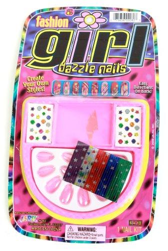 Ja Ru Fashion Girl Dazzle Nails, Styles May Vary