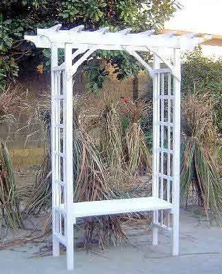 Garden Arbor Seat - 4