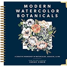 Modern Watercolor Botanicals (English Edition)