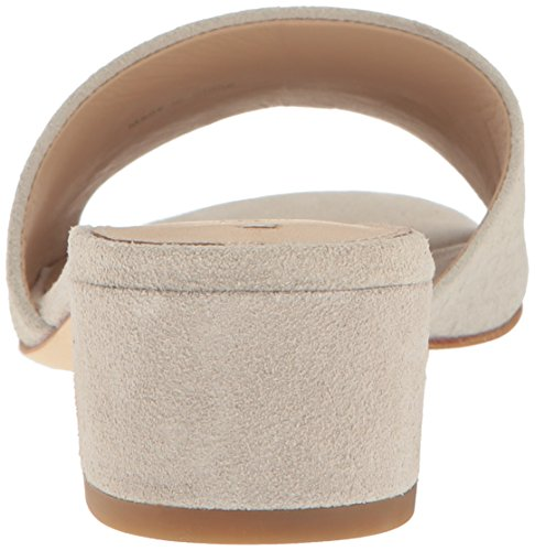 Spiga Women's Slide Gisel Via Suede Sandal Grey d67n1w1