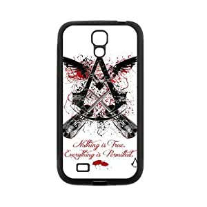 Assassin's Creed Super Cool Phone Shell Case for SamSung Galaxy S4 I9500,TPU+PC Diy Galaxy s4 Cover Case s4-linda663