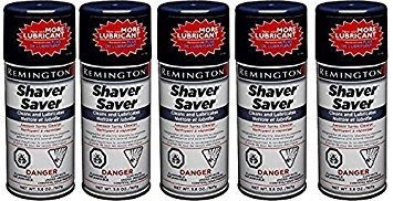 Remington Shaver Saver Aerosol Spray Cleaner, Model SP-4 3.8 oz (Quantity of 5)