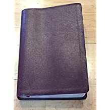 NELSON 2355BG - SPIRIT FILLED LIFE BIBLE (NKJV) - LARGE PRINT, GENUINE BURGUNDY BONDED LEATHER