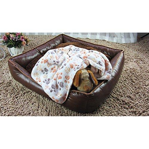 Pet-Blanket-ElevinTMWarm-Pet-Mat-Pad-Small-Large-Paw-Print-Cat-Dog-Puppy-Fleece-Soft-Blanket