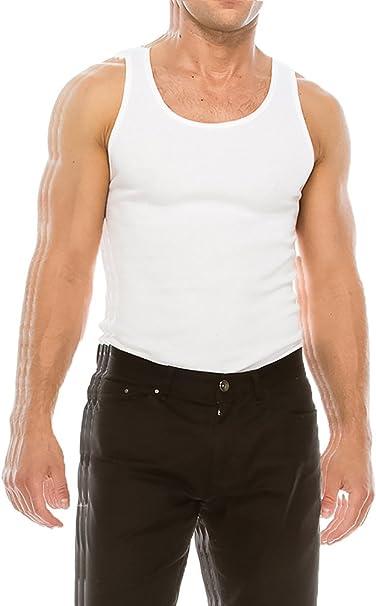 XX-Large Essentials Mens 6-Pack Crewneck Undershirts Black
