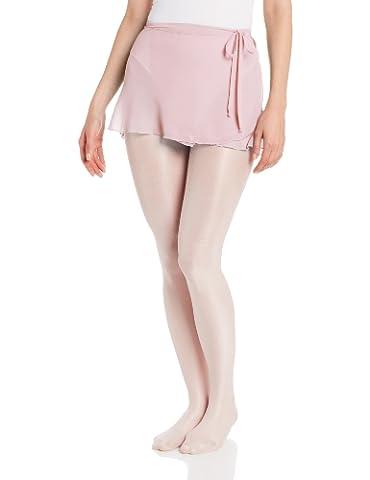 Capezio Women's Chiffon Wrap Skirt, Pink, Medium/Large - Capezio Wrap Skirt