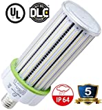 150 Watt E39 LED Bulb - 17,200 Lumens - 3000K / 2700K -Replacement for Metal Halide, HID or CFL - High Efficiency 130 Lumen/ watt - 360 Degree Lighting - LED Corn Light Bulb