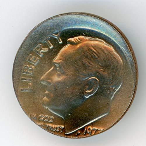 1977 Roosevelt Dime MS-64