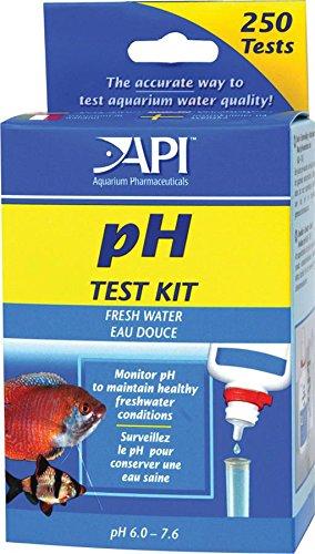 Mini ph test kit for fresh water aquarium fish exp for Fish tank water test kit
