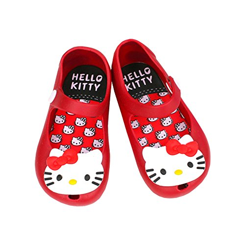 cavort Girl's Kitty Jelly Shoes - Sandals, Mary Jane Flats F