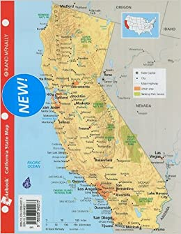 Buy Rand McNally Notebook California State Map Book Online at Low