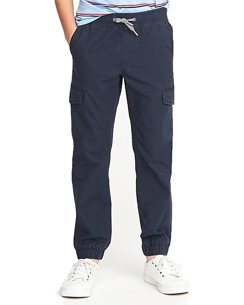 Old Navy Fall-Winter Sale Perfect for The Colder Days at School Built-in Flex Ripstop Cargo X-Large Size Joggers for Boys