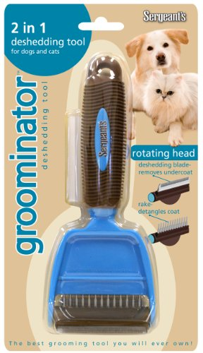 Fur-So-Fresh Groominator Dog and Cat 2in1 Deshedding Tool