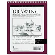 "Premium Drawing Pad  8"" X 10"" (Sketchbook, Sketch book)"