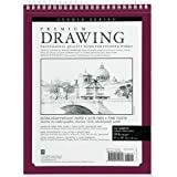 Premium Drawing Pad 8'' X 10'' (Sketchbook, Sketch book) (Studio)