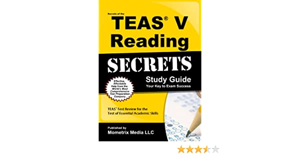 Secrets of the TEAS® V Reading Study Guide: TEAS® Test Review for the Test  of Essential Academic Skills