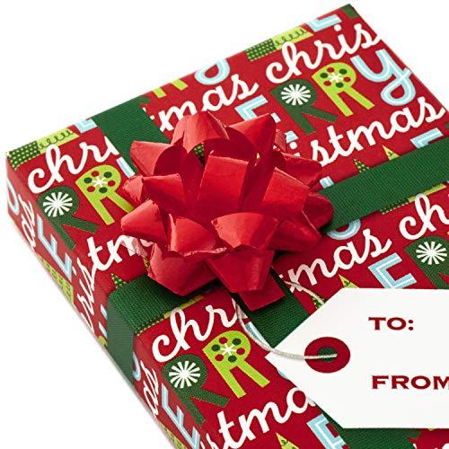 Hallmark Gift Card Holders, Green Ribbon (Pack of 6)