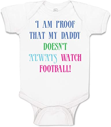 My Daddy is at Video Games Than Your Daddy Cotton Baby Football Bodysuit