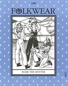 Patterns - Folkwear #240 Rosie the Riveter
