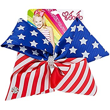 JoJo Siwa Large American Flag Signature Hair Bow
