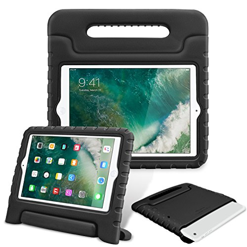 Fintie iPad mini 1/2/3 Kiddie Case - Light Weight Shock Proof Convertible Handle Stand Kids Friendly for Apple iPad mini 1 / iPad mini 2 / iPad mini 3, Black