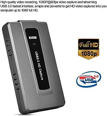 Amazon.com: EZCAP dispositivo tarjeta de captura de vídeo ...