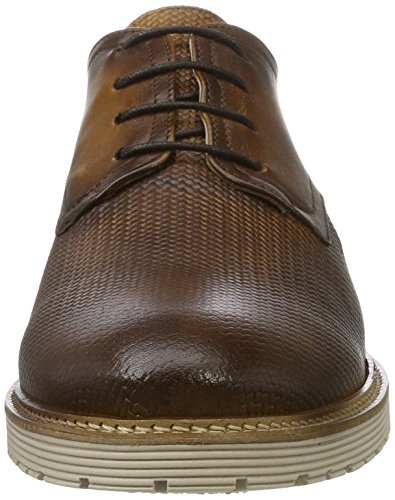 Marc Shoes Dover, Scarpe Stringate Uomo Marrone (Braun)