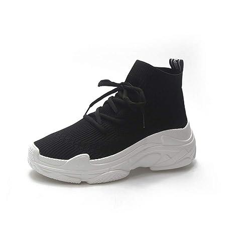 Mujeres Zapatos Casuales Transpirable Tela elástica ...