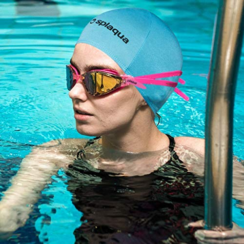 cra Swim Cap -Comfort Stretch Swimming, Bathing and Shower Hair Cover - Keeps Hair Dry and Protected ()