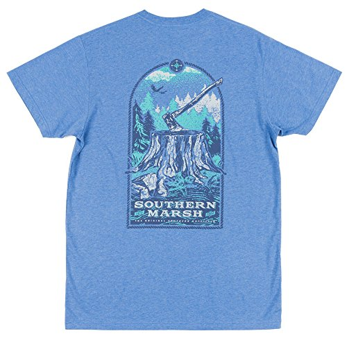 (Southern Marsh Relax & Explore - Axe, Washed Oxford Blue, X-Large)